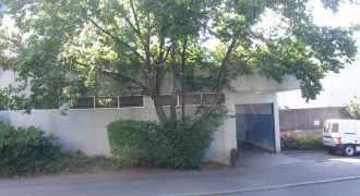 For rent, Individually usable warehouse-business unit