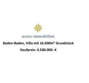 special villa 76532 Baden-Baden