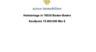 hotel project 76530 Baden Baden